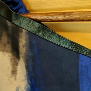 Tahari Tops - Tahari Peplum Tank Top in Blue and Gray